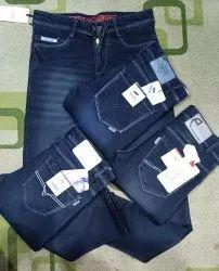 Denim Faded Gass Mens Jeans, Waist Size: 30
