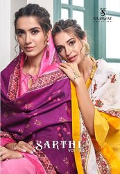 Ynf Vastram Organza Silk Saree Catalog Collection At Textile Mall Surat