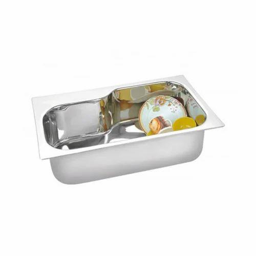 Stainless Steel Prayag Gold Kitchen Sink  sc 1 st  IndiaMART & Stainless Steel Prayag Gold Kitchen Sink Rs 4480 /piece Sumit ...