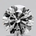 1.01ct Lab Grown Diamond CVD F IF Round Brilliant Cut Type2A