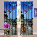 Modern Style 3D Digital Curtain