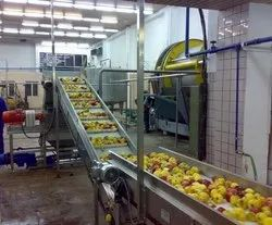 Apple Pulp Processing Plant