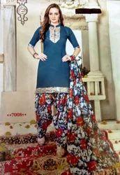 Printed Salwar Suit Set patrani
