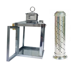 SS Lantern Stand And Safety Agarbatti Stand