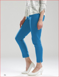 Women Sky Color Casual Pant
