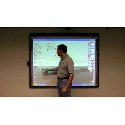 Touch Based White Hitachi Interactive Board, Size/Dimension: 4x6, Finger Touch
