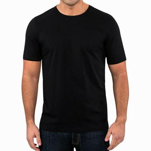 d288acf7244e2 Cotton Round Neck Pima T Shirt