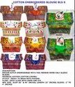 Kutch Work Embroidered Saree Blouse -Gujarati Traditional