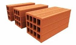 CLAY Building Material POROTHERM HOLLOW BLOCK, For Partition Walls, Size: 16 X 8 X 8