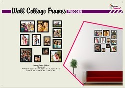 Set of Wall Collage Photo Frame Different Sizes
