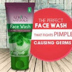 Green Adven Natural Face Wash, Gel, Age Group: Adults