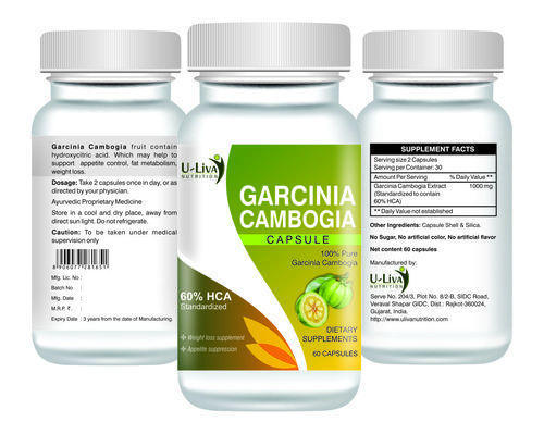 Garcinia cambogia taken with