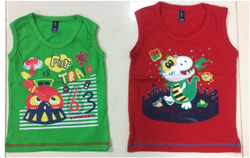 Boys Sleeve Less Kids T Shirt