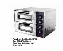 Abc Semi-Automatic Pizza oven small double, For Multi