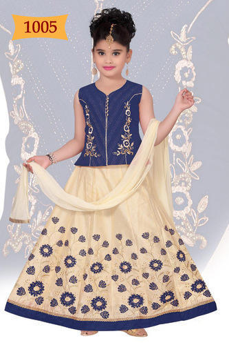 312be7e299063 5-16 Years Old Eid Festival Girls Lehengas Dresses, Rs 1290 /piece(s ...