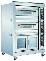 Double Deck Oven With Proofer