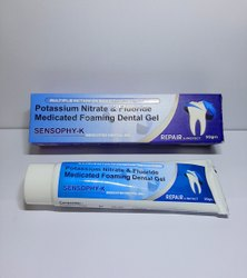 SENSOPHY-K TOOTHPASTE, Packaging Size: 50GM