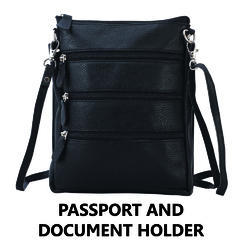 Passport And Document Holder