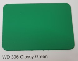 Wd-306 Glossy Green Color ACP Sheets