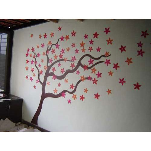 wall painting decals at rs 55 /square feet | deewar sticker, वॉल