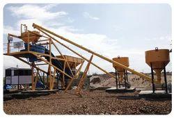 Self Loading Concrete Batch Plant