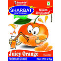 Soft Drink Concentrate For 40 Glasses - Juicy Orange Flavour