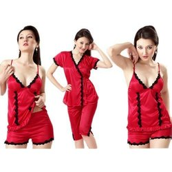 Ladies Four Piece Nightwear