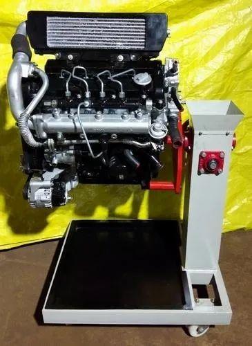 4 Stroke 4 Cylinder CRDI Diesel Engine With Swevling Stand