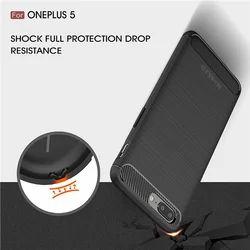 One Plus 5 Black Armor Mobile Cover