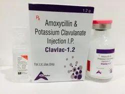 Amoxycillin Sodium 1000mg & Potassium Clavulanate 200mg