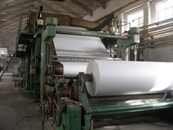 Newspaper Making Machine