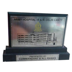Army Hospital Wooden Momento