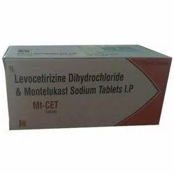 Levocetirizine Dihydrochloride Montelukast Sodium IP Tablets