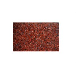 Polished Ruby Red Granite Slab, Thickness: 10-15 Mm