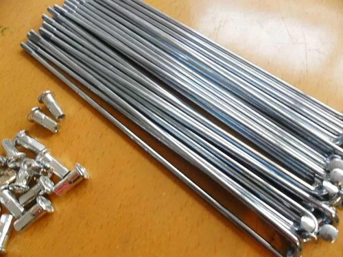 Details about  /Wheelmaster Steel Bicycle Spokes /& Nipples 234mm x 14ga//2.0mm Qty 18   S80