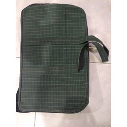 Green HDPE Tarpaulin Bag, For Grocery, Capacity: 7 Liter