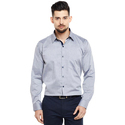 Men's Cotton Full Sleeve Plain Shirt, Size: S To Xxl