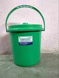 10 Ltr Plastic Dustbin With Lid And Handle