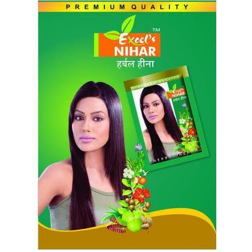 6e41a4adfa547 Excel's Nihar Herbal Henna Powder at Rs 120 /pouch | Herbal Heena ...