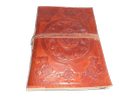 Mandala Embossed Handmade Leather Notebook