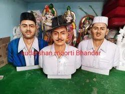 Bhagat Singh Rajguru Sukhdev Marble Statue