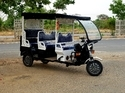 Covered Electric Rickshaw