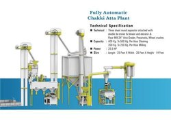 Semi Automatic Flour Mill Plant