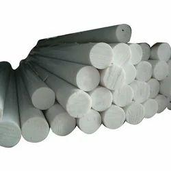 White Teflon Round Bar, Size: 6mm To 150mm