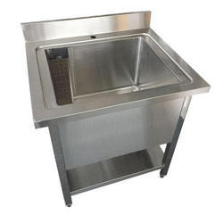 Pot Wash Sink Table