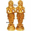 Brass Deep Laxmi Statue