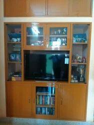 PVC Brown Modern TV Unit