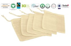 Biodegradable Bag Cotton Muslin Bag