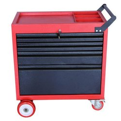 4D Tool Trolley With 4 Drawers