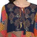 Yash Gallery Women's Cotton Embroidered Anarkali Kurta